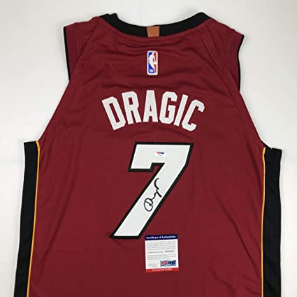 5d0704fd599 Autographed Signed Goran Dragic Miami Red Basketball Jersey PSA DNA ...
