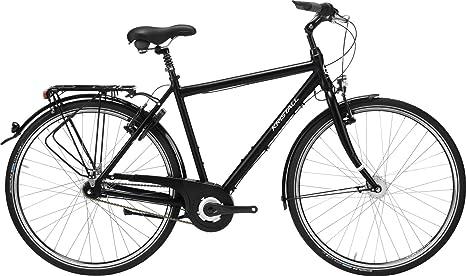 Cristal velo de bicicleta, City Bike, Basic 28 035 con cadena 24 ...