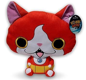Jibanyan 25cm Peluche Gato Rojo Gatito Videojuego Rol Manga Anime Nintendo Serie Japon