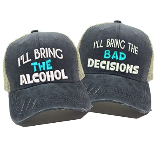 Image Unavailable. Image not available for. Color  Adult Custom Distressed Funny  Trucker Hat ... 8ed4b4001a57