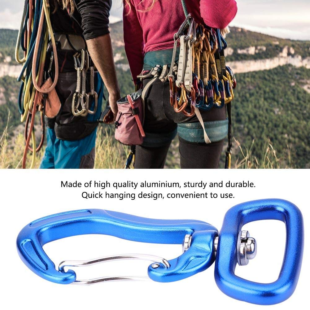 Carabiner Heavy Duty Outdoor Aluminum Climbing Safety Buckle Quickdraw Quick Hanging Hook for Hammock Hiking Backpacking Dog Leash/&Harness etc Camping