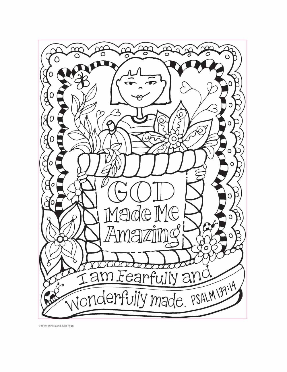 You\'re God\'s Girl! Coloring Book: Wynter Pitts, Julia Ryan ...