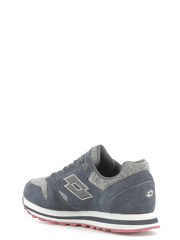 Lotto Trainer VIII TWD, Chaussures de Sport Homme, Gris/Marron (Gris Opale (Grey Opal)/Marron Toffee (Brown Toffee)), 42 EU