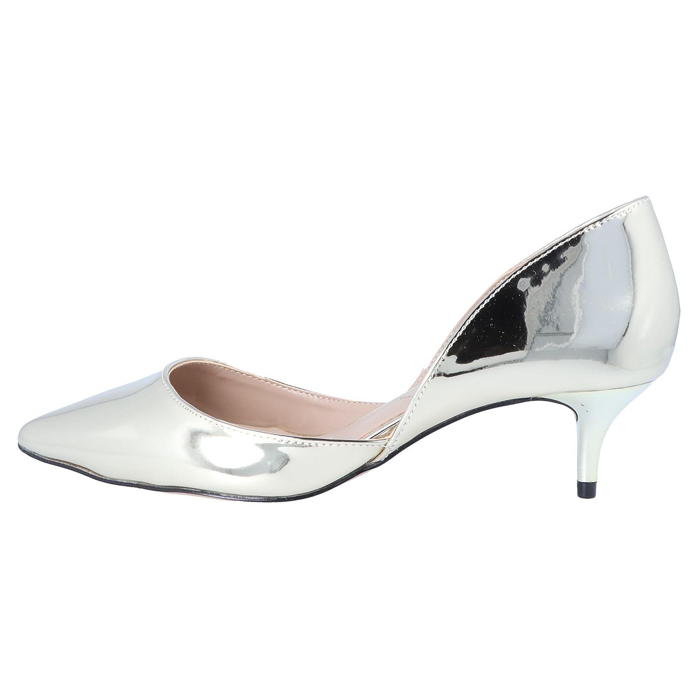 e8d5d622883 Aldo ADYLIA Damen Pumps Court Shoes Gold