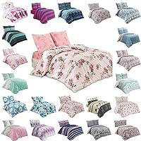 Buymax Bettwäsche Bettbezug Bettwäsche - Set 2-3 teilig Bettgarnitur mit Reißverschluss aus 100% Baumwolle Oeko-Tex