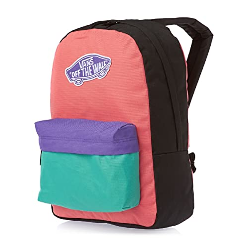 Vans Realm Backpack - Mochila, color negro/morado / azul ...