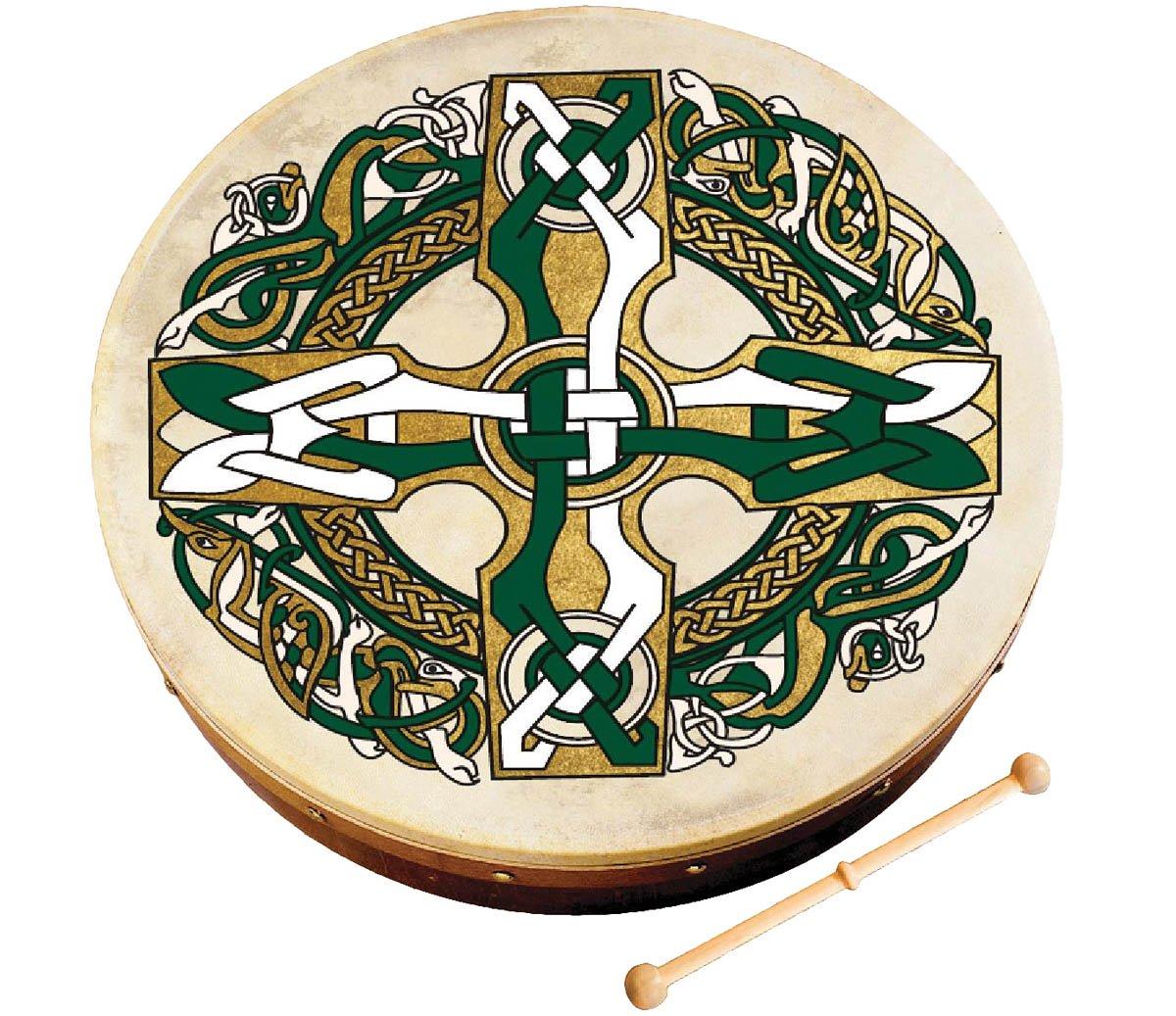 Waltons 12-Inch Celtic Cross Bodhran WM1932