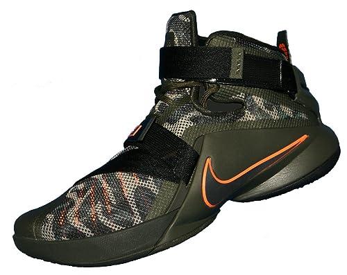 Nike Men's Lebron Soldier IX PRM, CARGO KHAKI/BLACK-SEQUOIA, 11.5 M