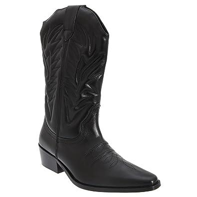 ac99745a886 Gringos High Clive - Bottes Western - Homme  Amazon.fr  Chaussures et Sacs