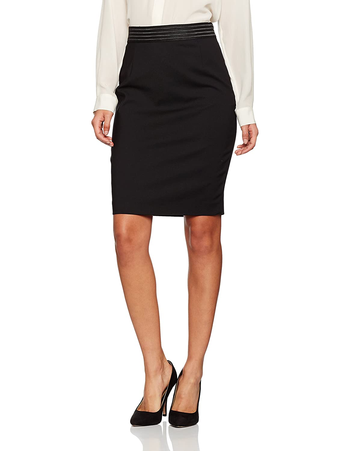 French Connection Damen Rock Glass Stretch Pencil Skirt