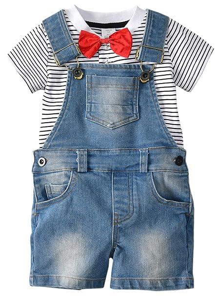 Amazon.com: DAIMIDY - Camiseta y traje general para bebé, 12 ...