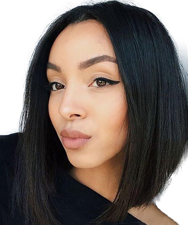 amazoncom qianbaihui bob wigs for black women short
