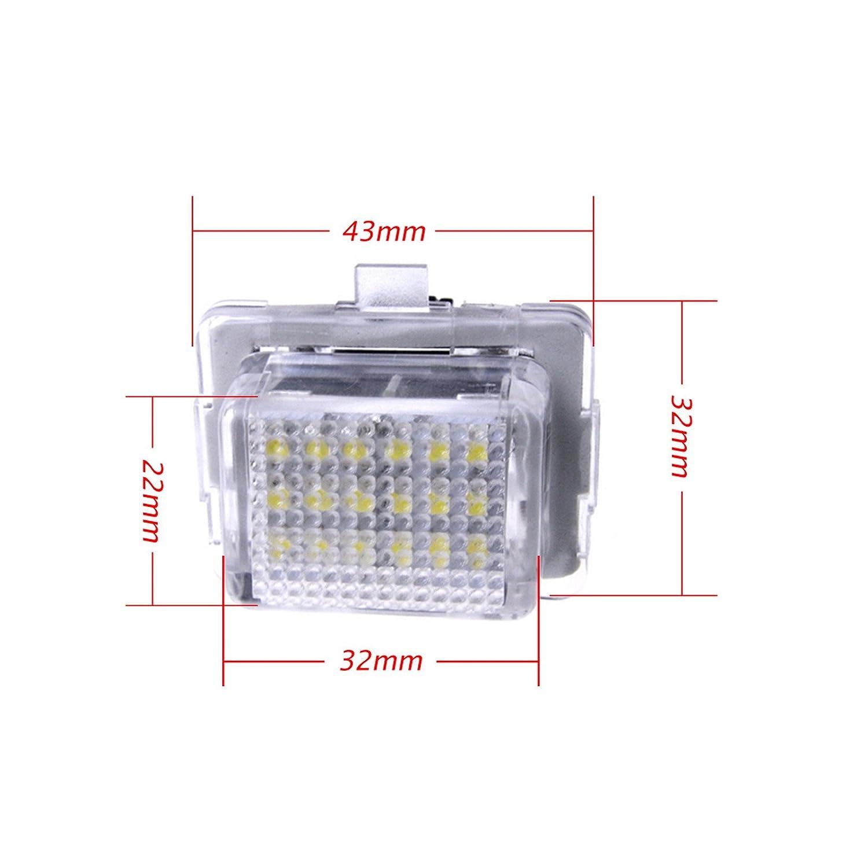 AR A2218200856 W204 W212 W221 Canbus LED Kennzeichen Nummernschild Beleuchtung