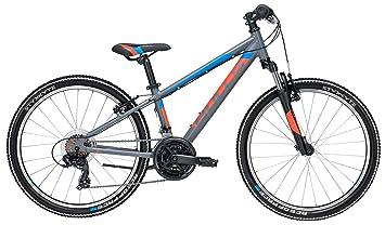 Kinder Fahrrad 24 Zoll Grau Bulls Jugend Bike Tokee Shimano