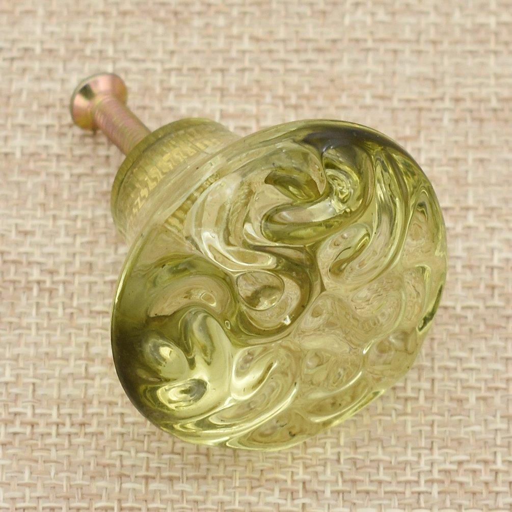 Rose Kesheng Bouton De Poign/ée en Acrylique Meuble Placard Bricolage Accessoire