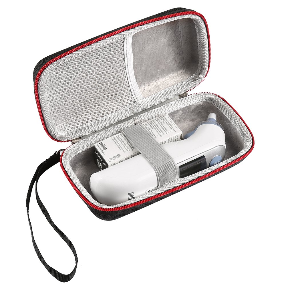 LuckyNV Thermometer Case for Braun Thermoscan 7 IRT6520 / ThermoScan 5 IRT6500 , Travel Carrying Storage Case
