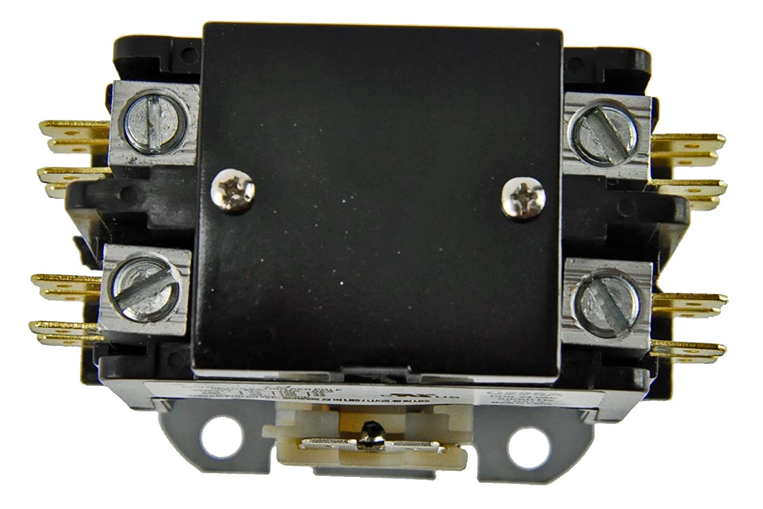 71JnMan9rQL._SL1500_ amazon com 2 pole 30 amp 24v coil replacement contactor for coleman