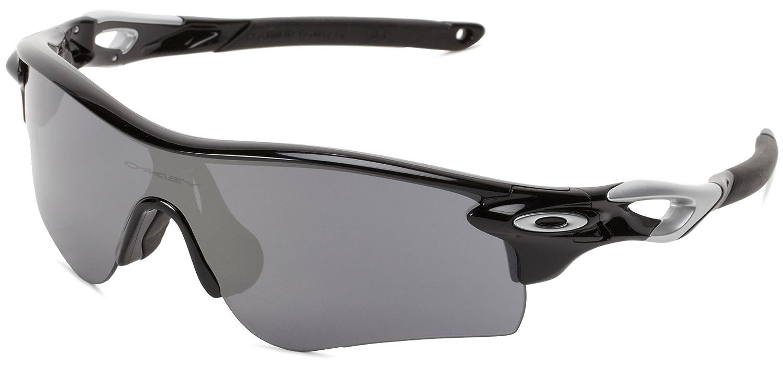 d9acfab08e337 ... order amazon oakley oo9181 19 radarlock path sunglasses black iridium  polished black oakley radarlock path clothing ...