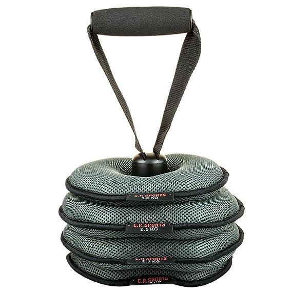 C.P Sports Softkettlebell Fitnesszubeh/ör Grau One Size
