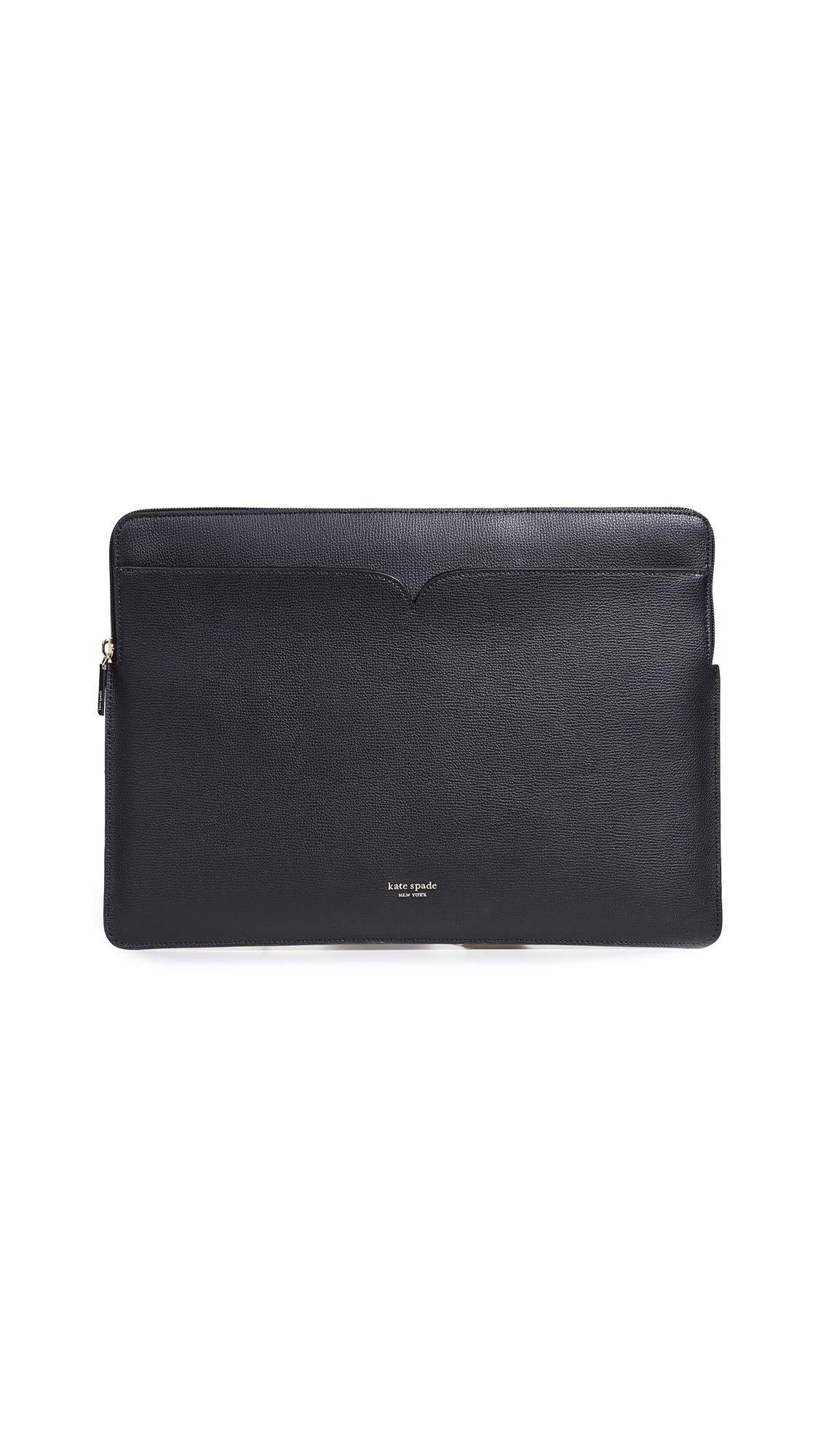 Kate Spade New York Sylvia Universal Slim Laptop Sleeve, Black, One Size