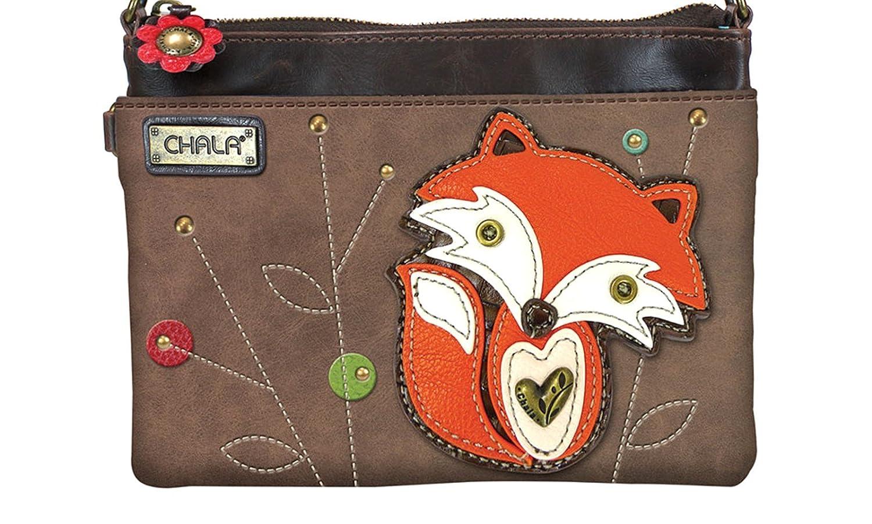 f475082f6a0 Chala Handbags Charming Fox Theme Collection (Fox Mini Crossbody)