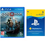God Of War by Sony + 3 Months PSN Membership for Playstation 4