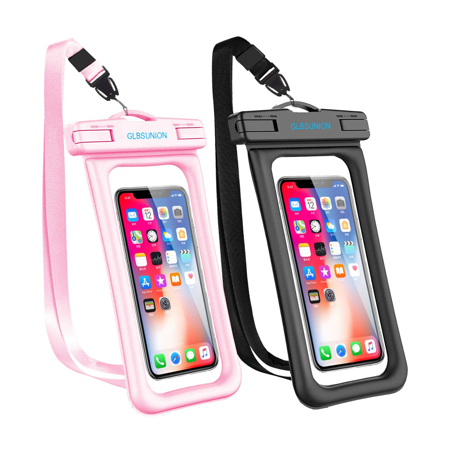 GLBSUNION Waterproof floating phone pouch