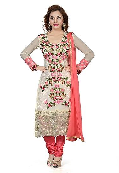 ishin Women's Dress Material Dress Material at amazon