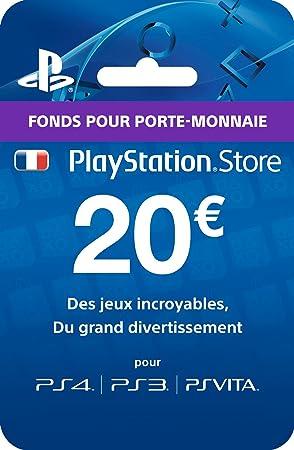 Sony Tarjeta Playstation Store - 20 €: Amazon.es: Informática