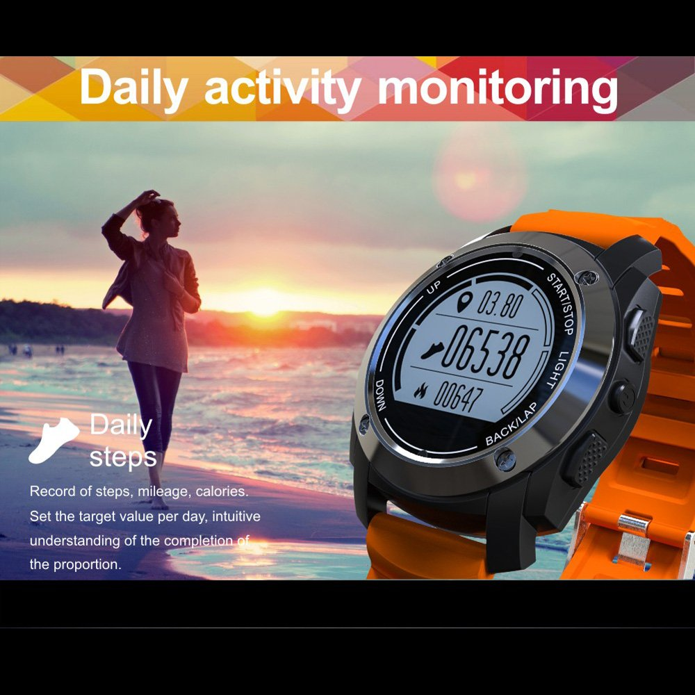 Docooler S928 Smart Bluetooth Reloj Deportivo Pulsera GPS ...