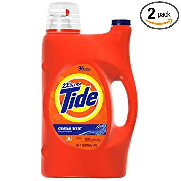 Amazon.com: Tide 2 x ultra concentrado detergente, Original ...