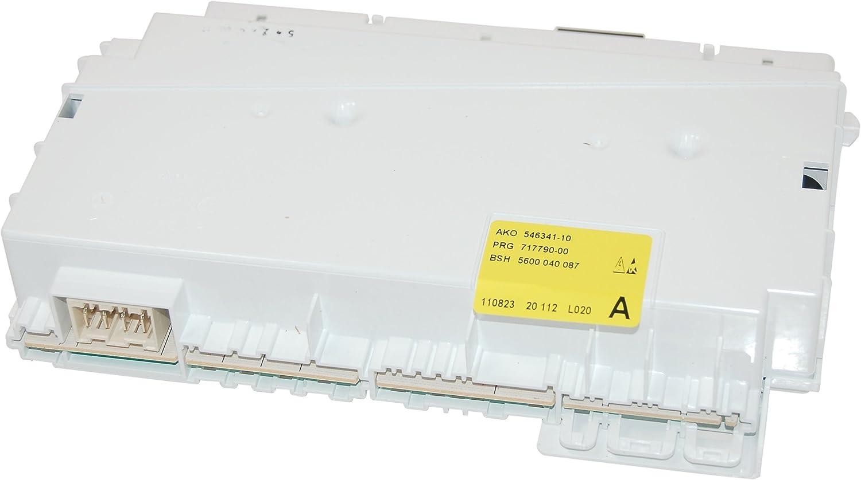 Genuine Siemens Dishwasher cONTROL mODULE