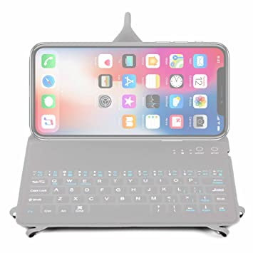 the latest 0496f c8ac5 DURAGADGET Ultra-Slim Rechargable QWERTY Keyboard Case: Amazon.co.uk ...