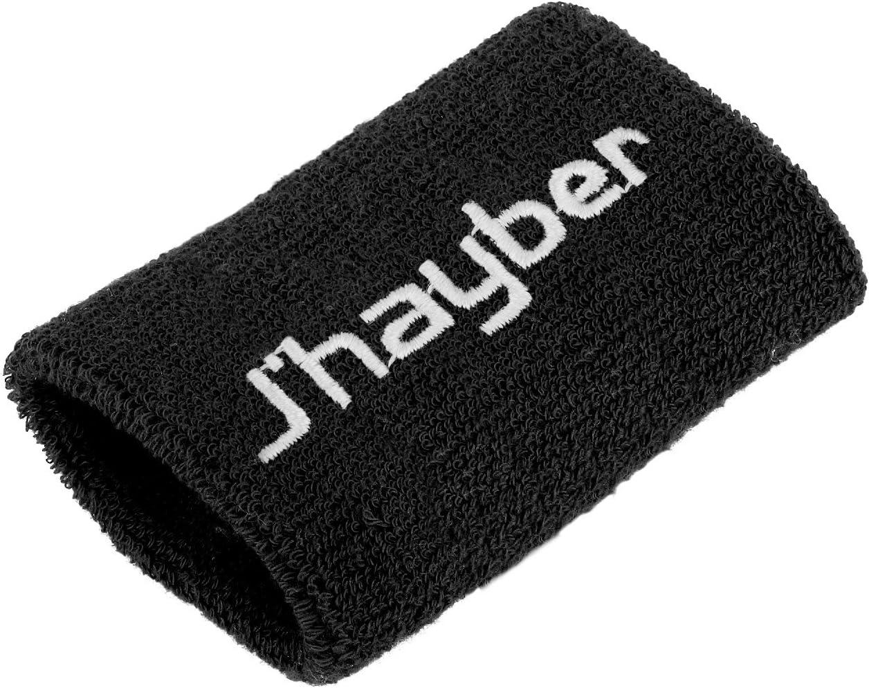J'hayber 18293-200 Muñequera, Unisex Adulto, Negro, Talla Única