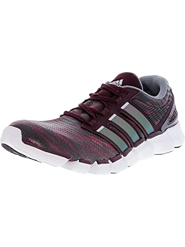 huge selection of 16b7c ace46 Amazon.com  adidas New Mens Adipure Crazy Quick Running Shoes  MaroonSilver 12  Running