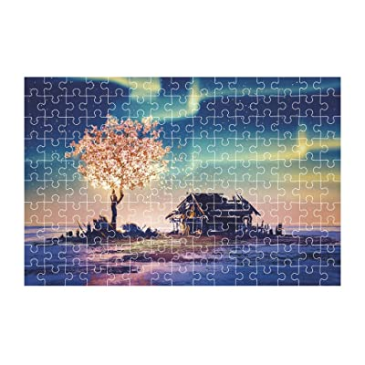 Haluoo 150 Pieces Kids Puzzles - Polar Impression Jigsaw Puzzles Intelligence Develop Puzzles Learning Education Game Entertainment Decompression Game for Beginers Toddler Boy Girl Parent Child Toy: Clothing