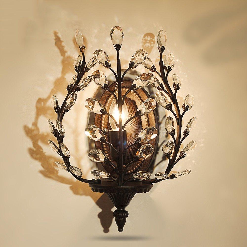 Luxus Wandleuchte Beleuchtung Europäischen Stil Wandleuchten Lampe Nachttischlampe Kristall Wandleuchte Schlafzimmer Treppe Wohnzimmer Licht & Beleuchtung Wandleuchten