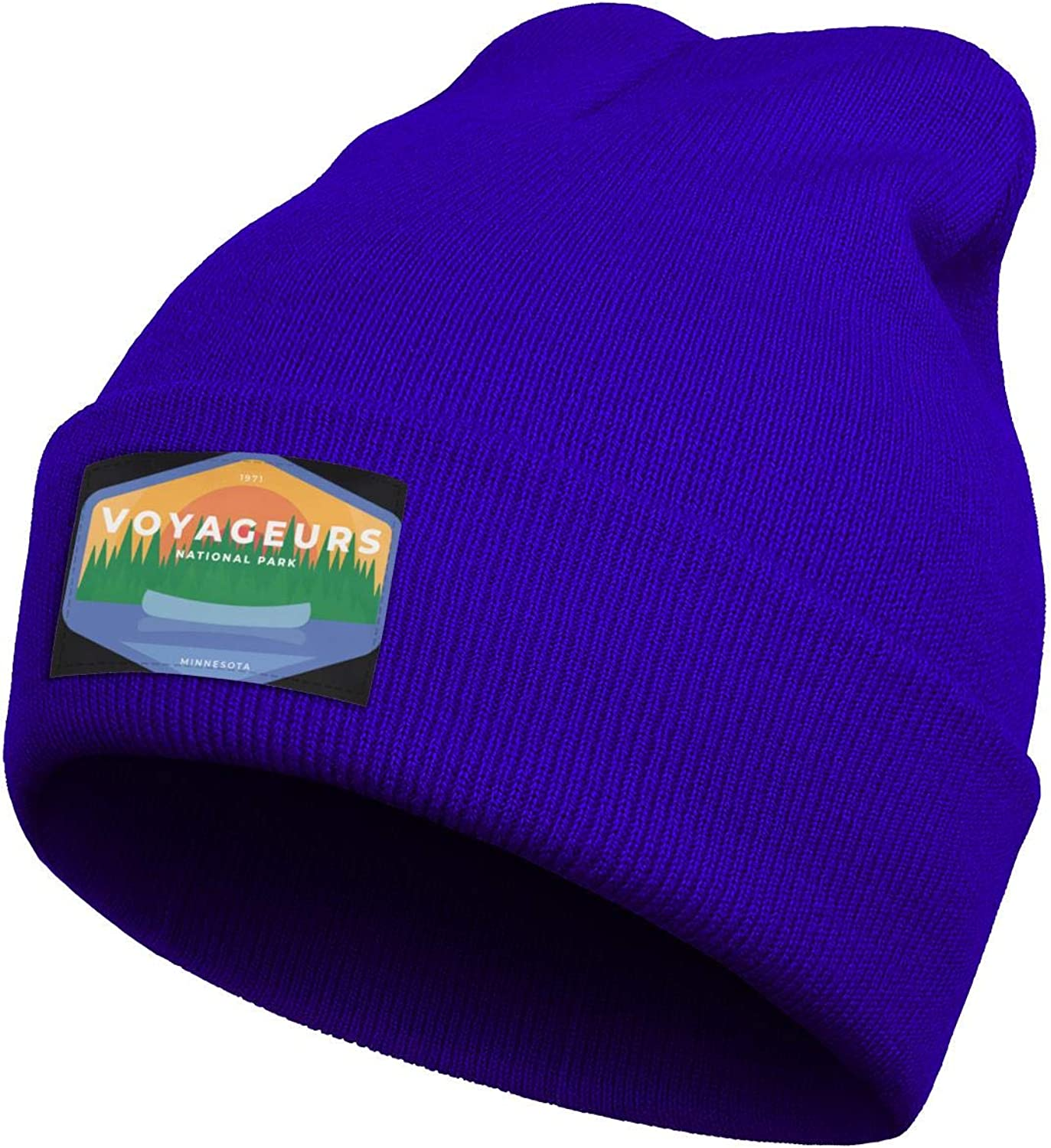 Mens Knitting Beanie Voyageurs-National-Park Caps Perfect for Snowboarding