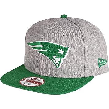 197cf43c79811f New Era Snapback Cap - New England Patriots grey / celtic: Amazon.co ...