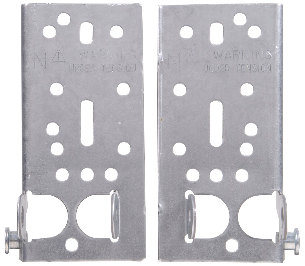 The Hillman Group 852130 6-Inch Bottom Lift and Roller Brackets, Galvainzed by The Hillman Group
