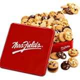 Mrs. Fields Cookies Signature 60 Nibblers Bite-Sized Cookie Tin- Includes 5 Different Flavors