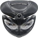 Amazon com: BADASS SHARKS Motorcycle Off-Road Headlight Fairing Kit