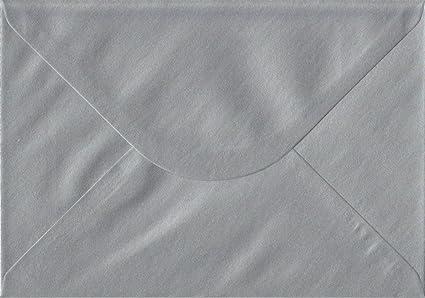 C5 162 x 229 mm Enveloppes pour cartes de vœux A5 premier qualité argent métallisé