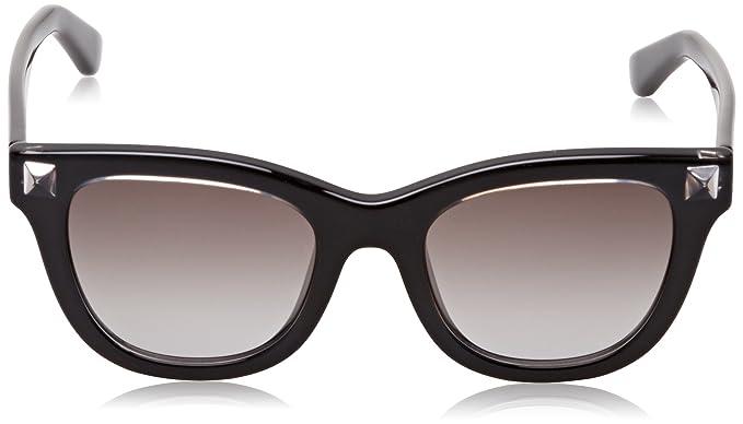 Amazon.com: anteojos de sol VALENTINO V 706 S 603 Burdeos ...