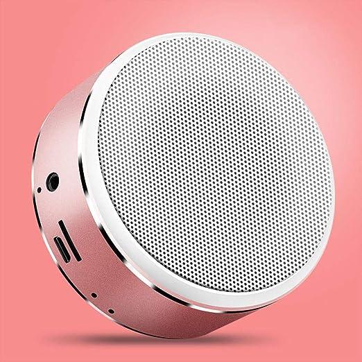 Lnyy Altavoz Bluetooth Altavoz portátil Tarjeta Mini portátil inalámbrico Audio Regalo 85 * 37mm: Amazon.es: Jardín