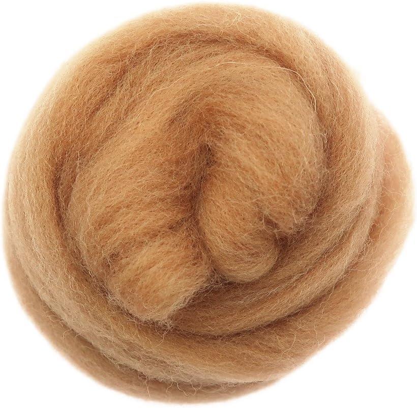 Royal Blue Baosity Needle Felting Wool Materials Soft Wool Fibre Yarn Roving for Art Needlework