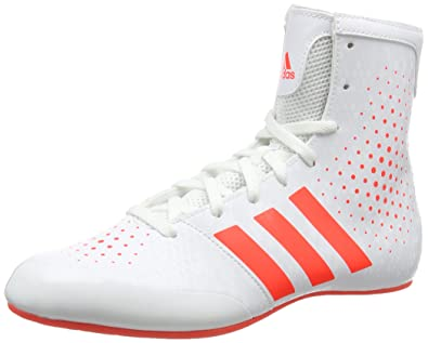 adidas KO Legend 16.2 Men's Boxing Boots, White/Red, ...