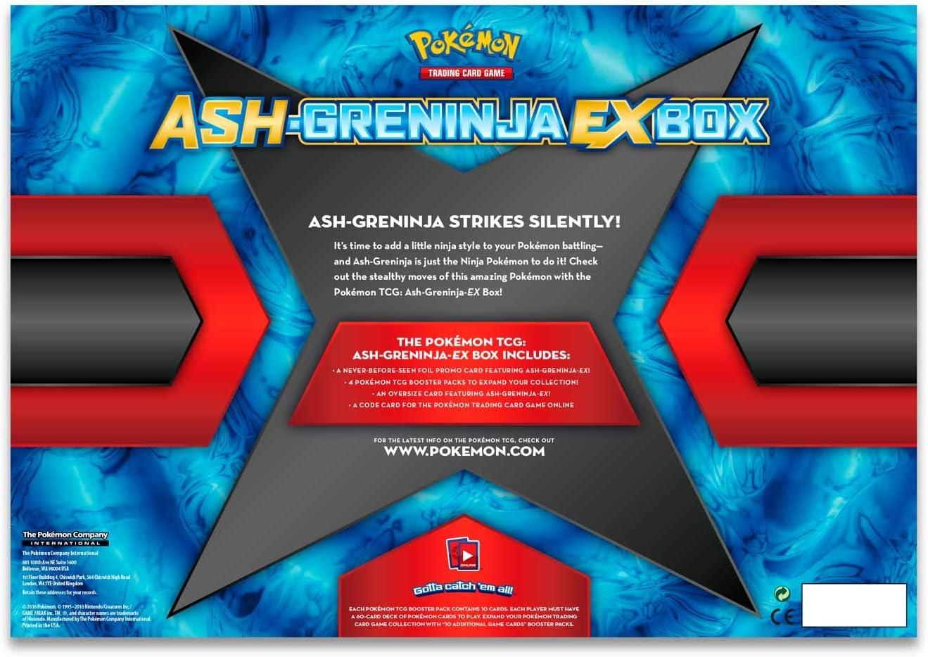 Pokemon TCG: Ash-Greninja-EX Box