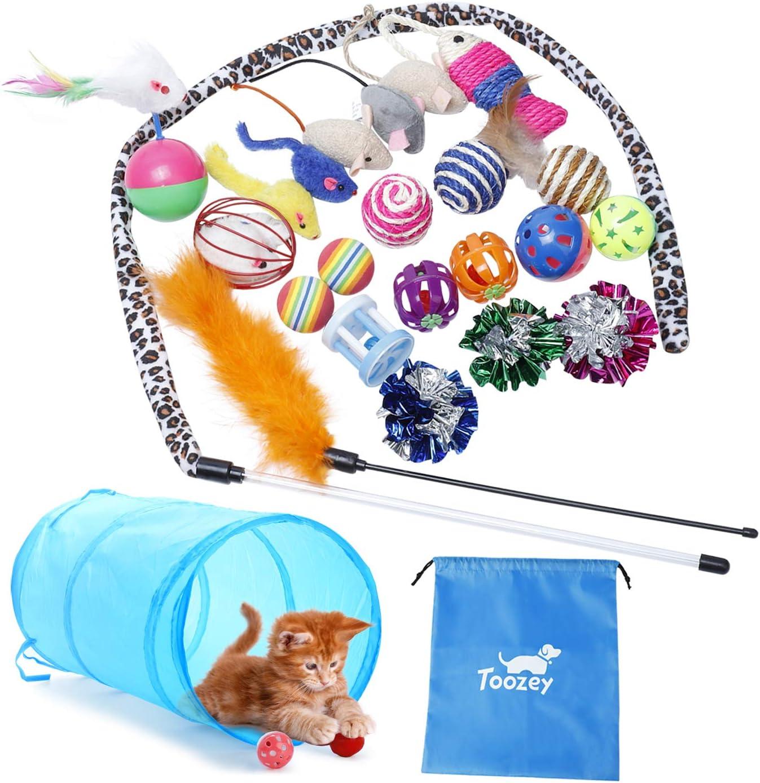Pack de Juguetes Variados para Gatos