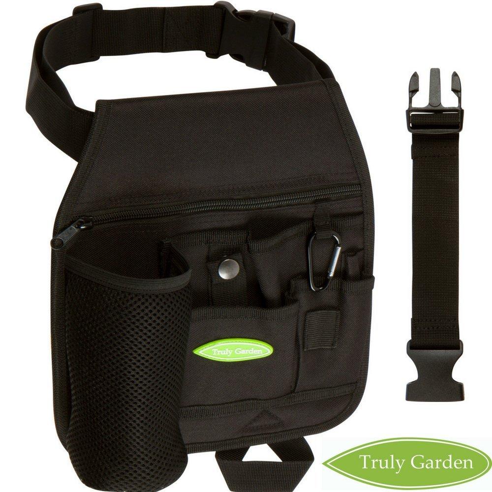 Truly Garden Garden Tool Belt Black XL
